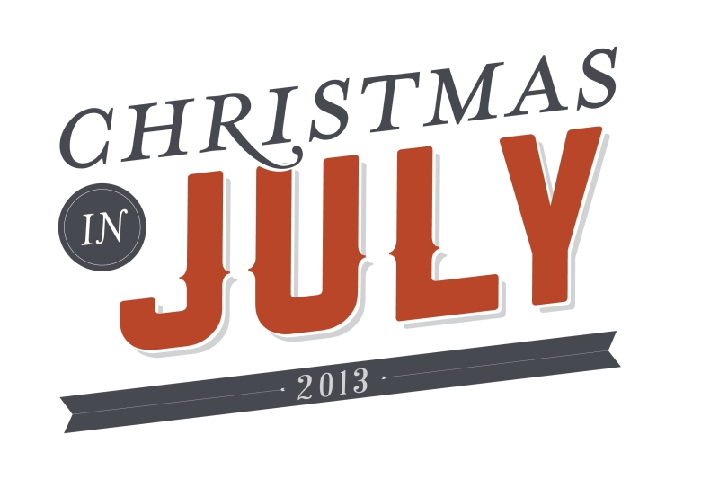 christmas in july logos_red